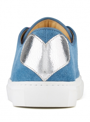Young British Designers: TOUGH LOVE SNEAKER in Denim by Rogue Matilda