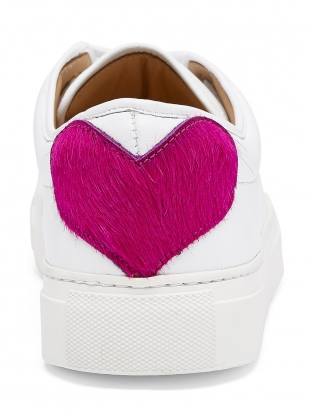 SWEETHEART SNEAKER in White - Last pair (36) by Rogue Matilda