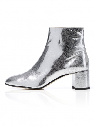 VERA BOOT in Silver by Dear Frances