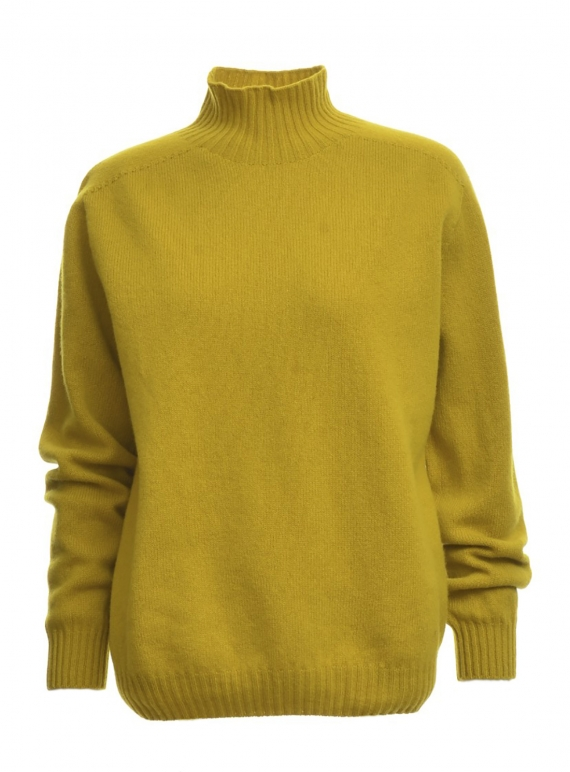 Young British Designers: SIENNA Jumper in Turmeric - Last one by SIDELINE