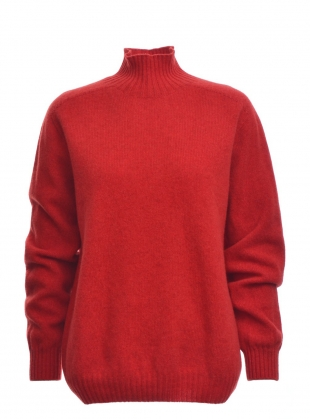 Young British Designers: SIENNA Jumper in Red - sold out by SIDELINE