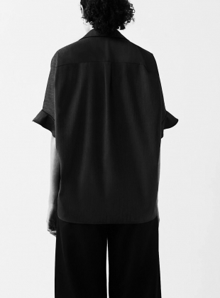 Young British Designers: ORGANIC 50's FRILL COCOON TOP by BITE STUDIOS