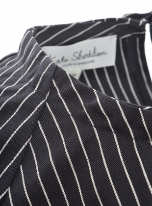 Young British Designers: BASE SHIRT in Pinstripe by Kate Sheridan