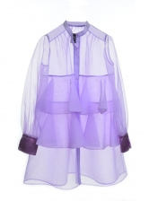 Light Violet Shirt Dress