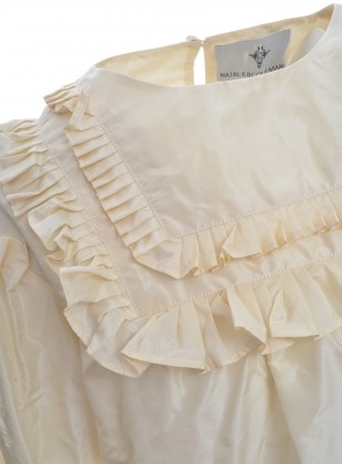 Young British Designers: Pleated Victorian Taffeta Top by Natalie B Coleman