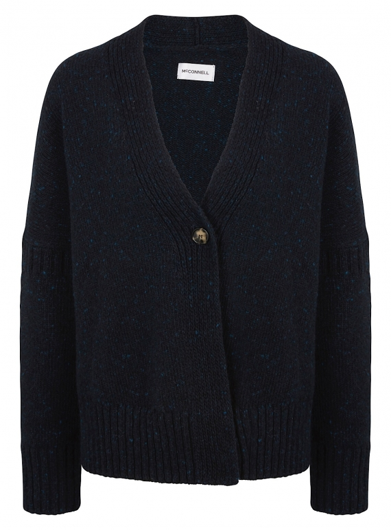 Young British Designers: Cashel Cardigan in Midnight  by McConnell
