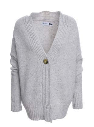 Cashel Cardigan in Pearl Grey by McConnell