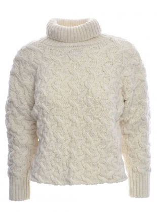 Westport Aran Sweater - Sold out by McConnell