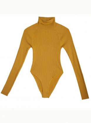 AXEL Bodysuit in Chartreuse by LF Markey