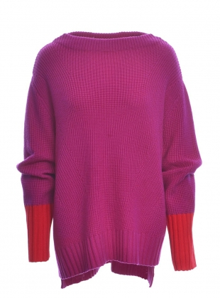 FRANKIE Sweater in Pink/Red by SYKES