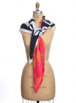 Young British Designers: SISTERS SILK SCARF - Last one by Natalie B Coleman