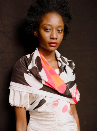 Young British Designers: SISTERS SILK SCARF by Natalie B Coleman