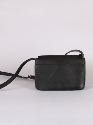 ALPHA SHOULDER BAG. Black - last one by Kate Sheridan