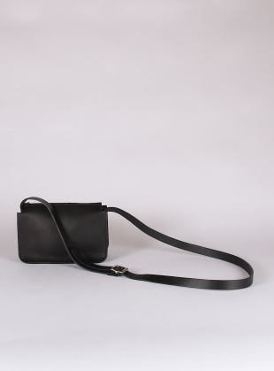 ALPHA SHOULDER BAG. Black by Kate Sheridan