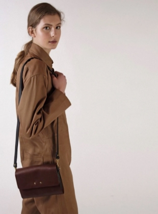 Young British Designers: RHYTHM BAG. Tumbled Arbia by Kate Sheridan