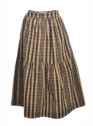 Young British Designers: HIGH NOON CHECKED SKIRT by Cawley