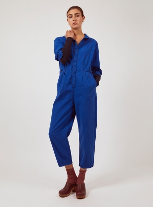 Cobalt Blue WILLOW BOILERSUIT - Last one (XS) by SIDELINE