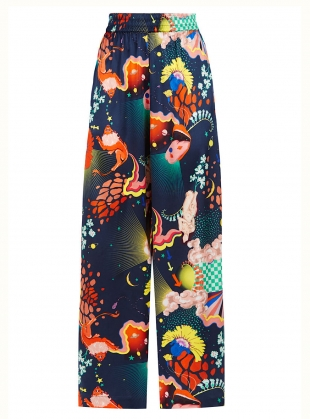 PLUTO PANTS in Lucid Print - last pair (XS) by Klements