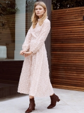 SWEET BREEZE SOFT PINK DRESS