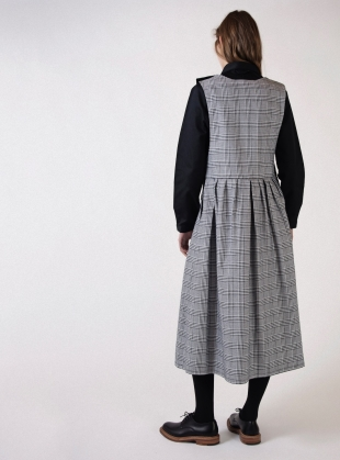 Young British Designers: POTTERY DRESS in Glencheck by Kate Sheridan