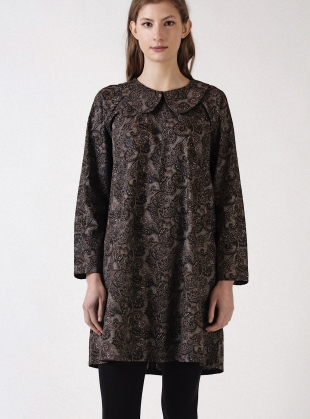 Paisley Poplin BASE DRESS by Kate Sheridan