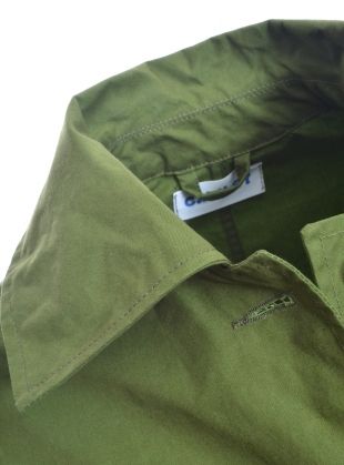 Young British Designers: FARO OILSKIN MAC. Grass Green - Last one (L) by Cawley