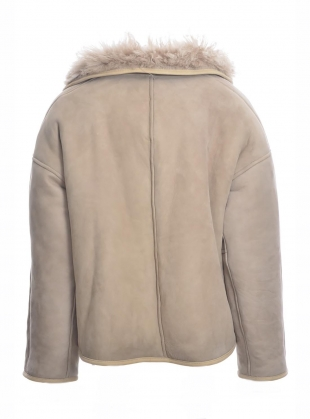 Young British Designers: Avis Reversible Sheepskin Jacket - Last one (L) by Cawley