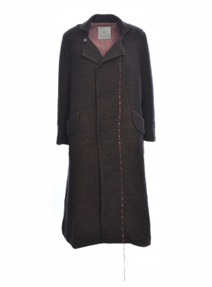 Young British Designers: The Artisan Cocoa Wool Coat - last one (M) by Renli Su
