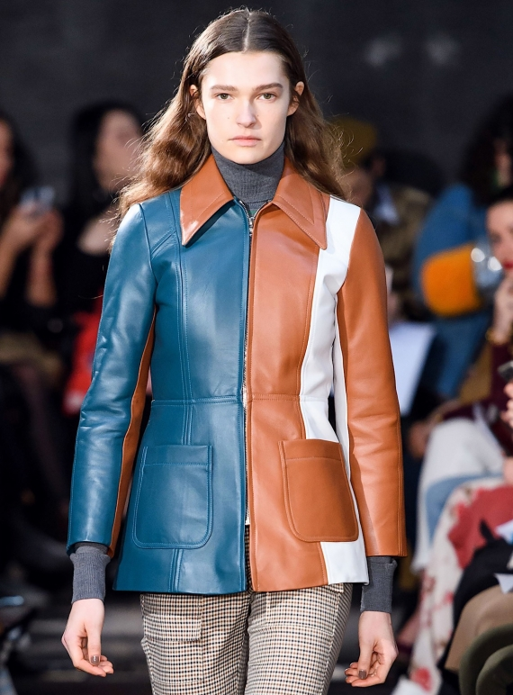 Young British Designers: MOOR LEATHER JACKET  by Eudon Choi