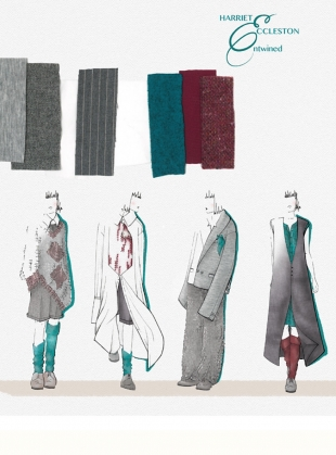 Young British Designers: The Cosseting Coat  by Harriet Eccleston