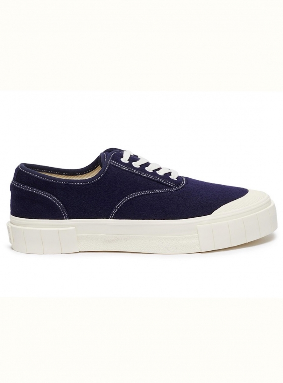 Navy Chunky Sole Trainers