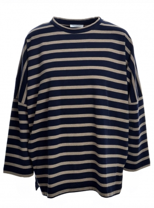 BILLIE ORGANIC COTTON OVERSIZED TOP - Last one (L) by Beaumont Organic