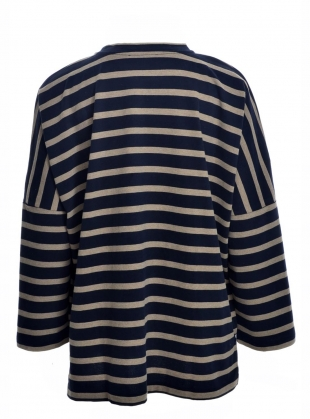 Young British Designers: BILLIE ORGANIC COTTON OVERSIZED TOP - Last one (L) by Beaumont Organic