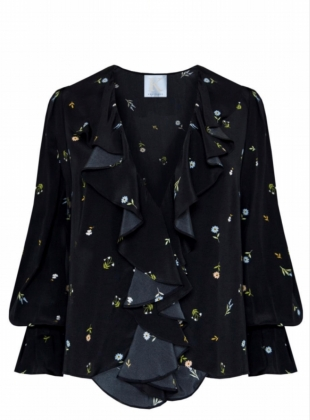 FLOWERING NIGHT BLOUSE by Kelly Love