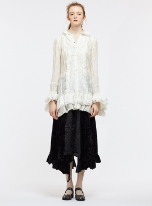Young British Designers: Wild Romance Flounce Shirt by Renli Su