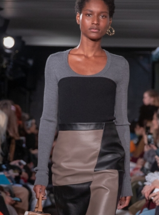 Young British Designers: MOYRA SCOOP NECK JUMPER by Eudon Choi