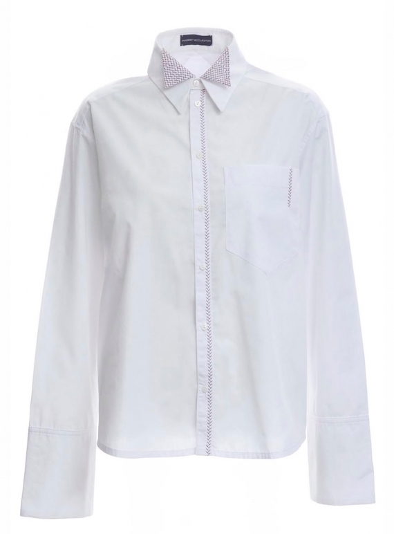 Young British Designers: EMBROIDERED BOY SHIRT by Harriet Eccleston