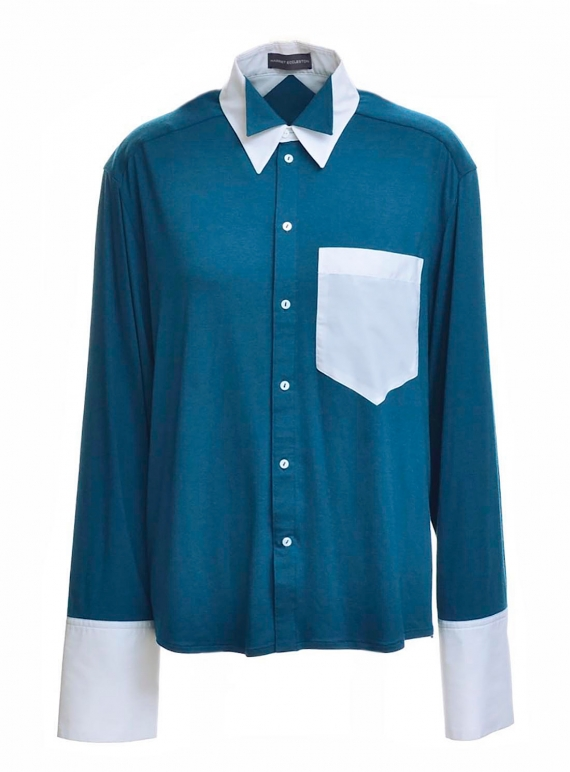 Young British Designers: JERSEY BOY SHIRT by Harriet Eccleston