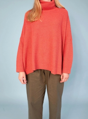 Young British Designers: THEO KNIT. Copper Blush by LF Markey