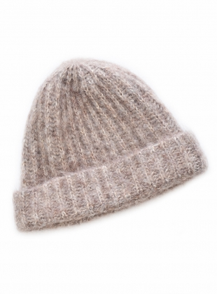Young British Designers: GISELLE-MARIE Alpaca & Organic Cotton Hat by Beaumont Organic