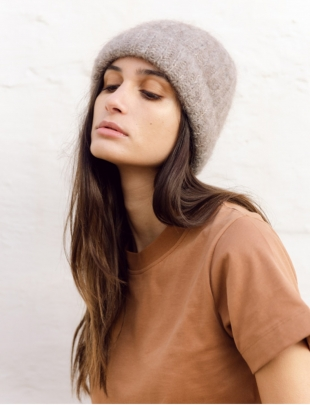 GISELLE-MARIE Alpaca & Organic Cotton Hat by Beaumont Organic