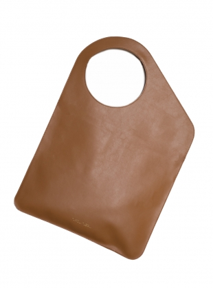 Young British Designers: Caramel/Merlot Bag. Large - Sold out by Russell Russell