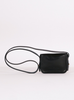 Young British Designers: Shiny Navy Mini Pop Bag - Last one by Kate Sheridan