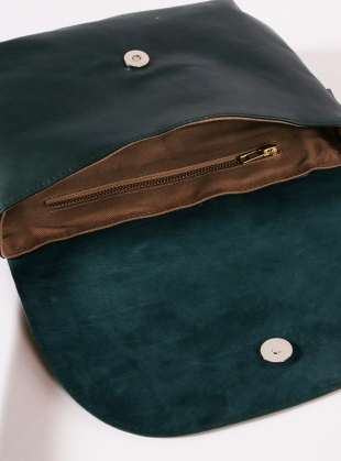 Young British Designers: Petrol Blue Dart Bag - Last one by Kate Sheridan