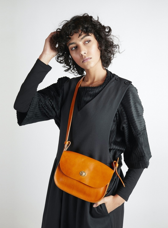 Young British Designers: Orca Shiny Lune Bag- last one by Kate Sheridan