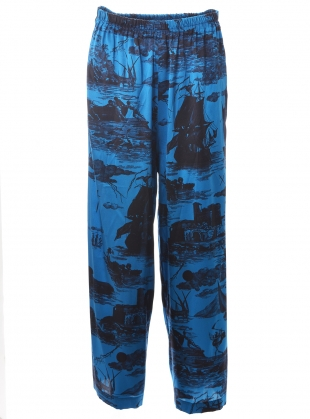 Young British Designers: PLUTO PANTS. Doomed Voyage Ocean  by Klements