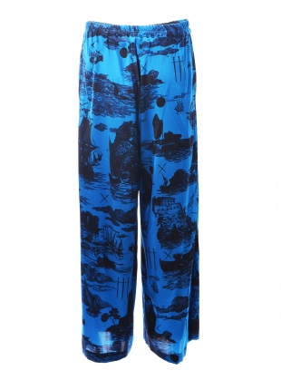 PLUTO PANTS. Doomed Voyage Ocean - last pair (xs) by Klements