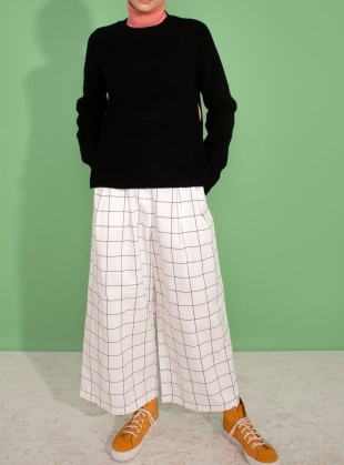 JORGEN TROUSER. Window Pane by LF Markey