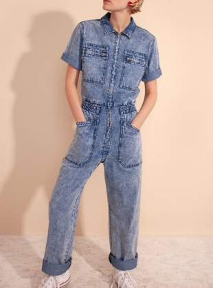 DANNY BOILERSUIT. Acid Wash by LF Markey