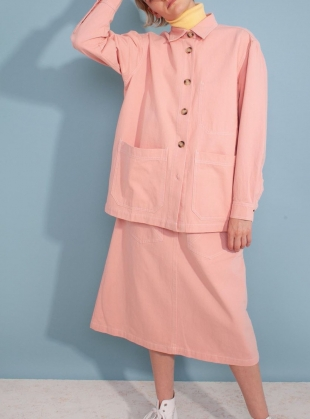 Young British Designers: HARPER SKIRT. Pink by LF Markey
